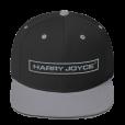 Black-SilverSanpbackHat-HJRetro-Grey