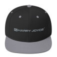 Black-SilverSnapback-Hat-HJ-Grey