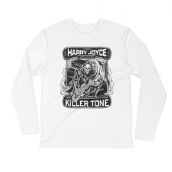 Harry Joyce Grim Reaper Long Sleeve Fitted Crew